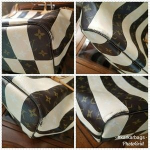 Louis Vuitton Bags - Authentic Louis Vuitton Rayures Neverfull MM